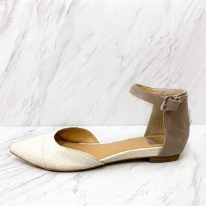 Dolce Vita- Pointed Toe Ankle Strap Flats Size 9
